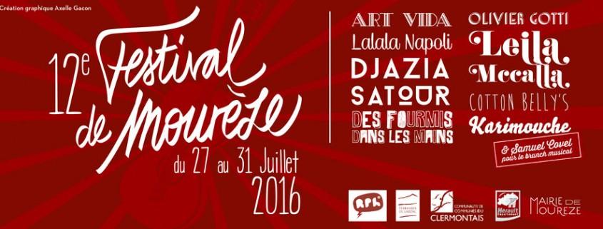 Festival de Mourèze affiche