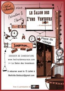 Festival de Mourèze inventeurs