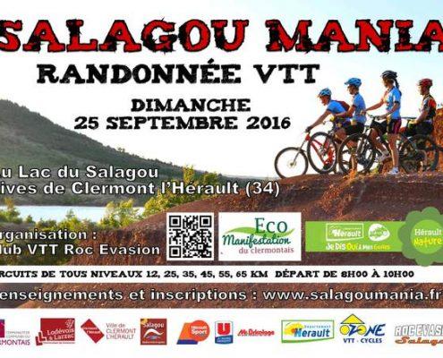 Salagou Mania 2016 affiche